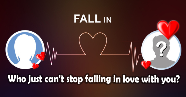 Who just can't stop falling in love with you?
