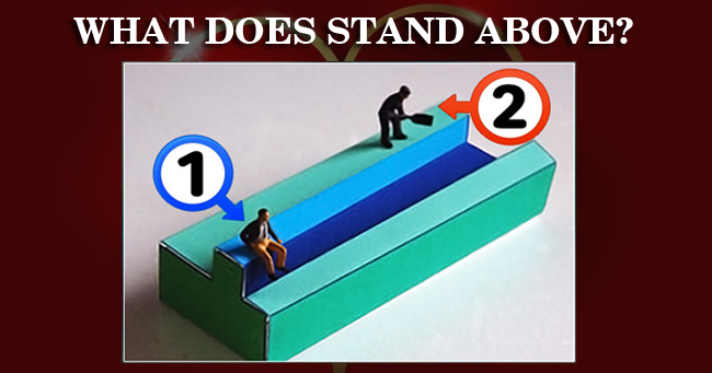 Who does stand above? - QUIZ
